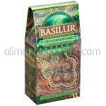 BASILUR Ceai Verde Ceylon cu Menta Marocana 100g
