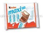 Batoane de Ciocolata KINDER Chocolate Maxi 126g