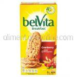 Biscuiti BELVITA Breakfast Cereale si Merisoare 300g