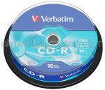 CD Inscriptibil CD-R 700Mb 52x VERBATIM 10buc