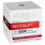 Crema Anti-Rid L'OREAL Revitalift Noapte 50ml