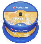 DVD Inscriptibil DVD-R 4.7Gb 16x VERBATIM 50buc