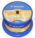 DVD Inscriptibil DVD-R 4.7Gb 16x VERBATIM 50buc