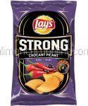 LAY'S Strong Crocant Picant Chipsuri Ondulate din Cartofi cu Aroma Piri Piri 120g