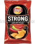 LAY'S Strong Crocant Picant Chipsuri Ondulate din Cartofi cu Aroma Hot Paprika 120g