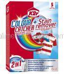 Servetele pentru Rufe Colorate K2r Colour Catcher + Stains 5buc