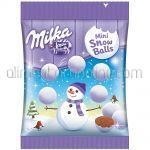 Bulgarasi din Ciocolata MILKA Snow Balls 100g