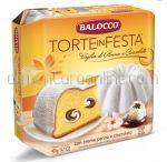 BALOCCO Cozonac Torte in Festa Panna & Ciocolata 400g [Paste 2017]