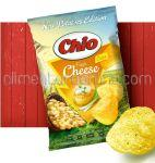 CHIO Chips din Cartofi Noi cu Aroma de Branza Proaspata si Ceapa Verde 140g