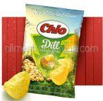 CHIO Chips din Cartofi Noi cu Aroma de Unt si Marar 140g