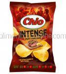 CHIO Chips Intense cu Aroma de Carne si Mustar 140g