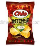 CHIO Chips Intense cu Aroma de Smantana si Ierburi 140g