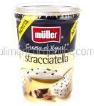 Iaurt cu Bucati de Ciocolata MULLER Stracciatella 500g