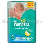 - Scutece PAMPERS Active Baby-Dry [4, Maxi, 7-14Kg] 76buc