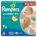 - Scutece PAMPERS Active Baby-Dry [4, Maxi, 7-14Kg] 132buc