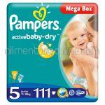 - Scutece PAMPERS Active Baby-Dry [5, Junior, 11-18KG] 111buc