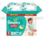 - Scutece PAMPERS Pants [5 Junior, 12-18KG] 96buc