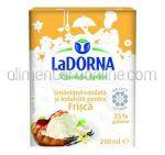 Smantana pentru Frisca cu Vanilie 35% La DORNA  200ml