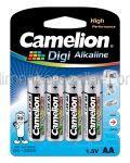 Baterii AA LR6 Alcaline CAMELION Digi 4buc