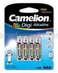 * Baterii AAA LR3 Alcaline CAMELION Digi 4buc