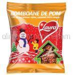 Bomboane de Pom LAURA Mix Visine, Caramel, Mere Coapte 184g