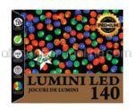 Instalatie de Craciun pentru Exterior Lumina Alba 14M 140 Beculete