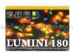Instalatie de Craciun pentru Interior Multicolora [tip Bob de Orez] 9M 180 Beculete