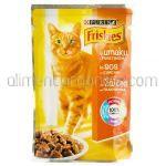 Mancare Umeda pentru Pisici FRISKIES Curcan 100g