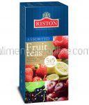 * RISTON Ceai Negru cu Aroma de Fructe Asortate 25 Plicuri x 2g