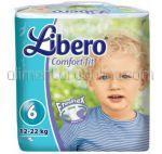 Scutece LIBERO Comfort Fit Nr.6 12-22Kg 72buc