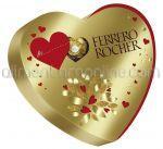 Bomboane de Ciocolata FERERRO ROCHER Inima 125g