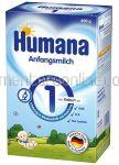 Lapte pentru Bebelusi HUMANA 1 600g