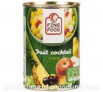 * Cocktail de Fructe in Sirop Slab Indulcit FINE FOOD 410g/250g