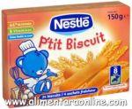 Biscuiti pt. Bebelusi P'tit Biscuit NESTLE 180g