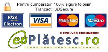 Detalii despre plata cu cardul pe site-ul www.alimentaraonline.com